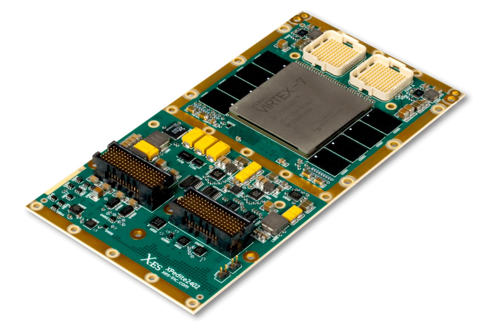 XPedite2402 XMC FPGA Module