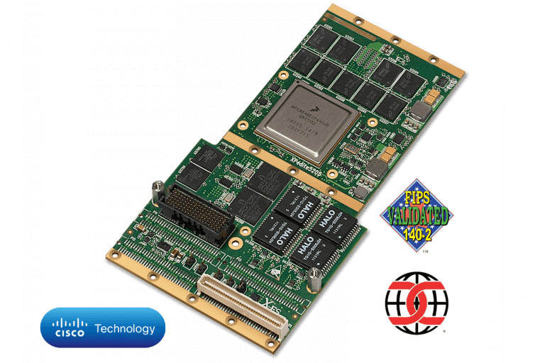XPedite5205 XMC/PMC Cisco IOS® Embedded Services Router (ESR)