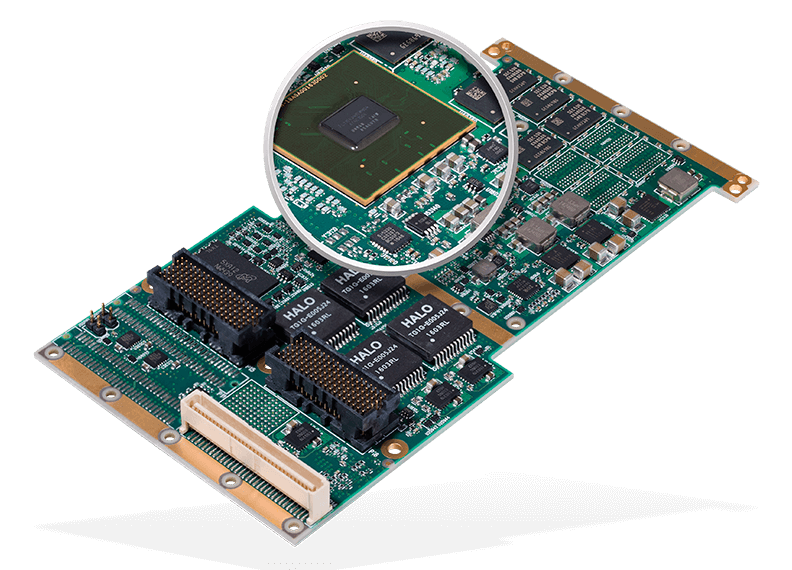 NXP QorIQ ARM-based XPedite6401 magnified
