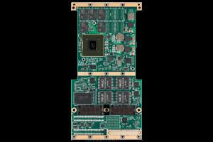 XPedite6401 XMC/PrPMC Mezzanine Module Top Shot