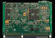 XCalibur4643 6U VPX Single Board Computer (SBC) Bottom Shot