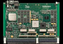 XCalibur4643 6U VPX Single Board Computer (SBC) Top Shot