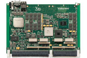 XCalibur4643 6U VPX Single Board Computer (SBC) Top Shot
