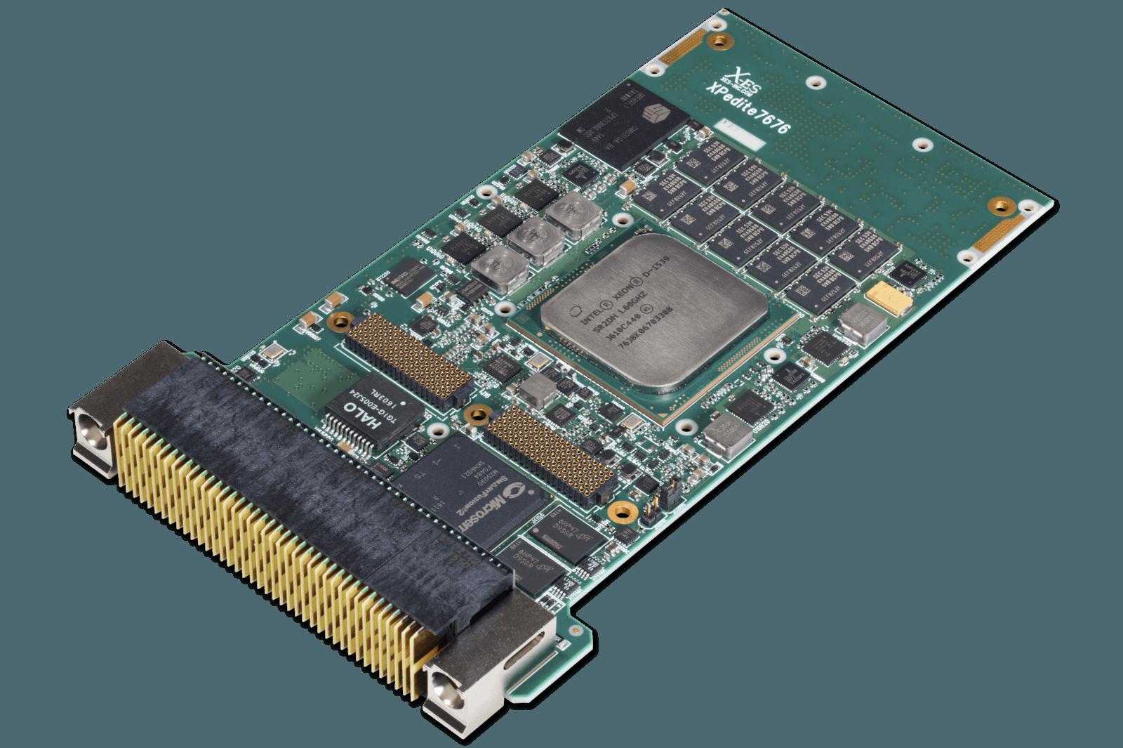 XPedite7676 3U VPX Intel Xeon D SBC