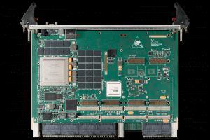 XCalibur1840 6U VPX Single Board Computer (SBC) Top Shot