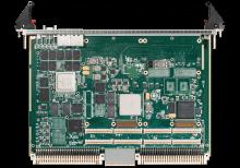 XCalibur1931 6U VME Single Board Computer (SBC) Top Shot