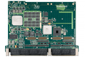 XCalibur4640 6U VPX Single Board Computer (SBC) Top Shot