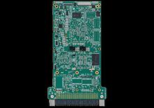 XChange3021 3U VPX Embedded Ethernet Switch Bottom Shot