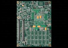 XPedite5850 COM Express® Mezzanine Module Bottom Shot