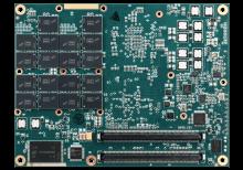 XPedite7450 COM Express® Mezzanine Module Bottom Shot