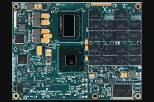 XPedite7450 COM Express® Mezzanine Module Top Shot