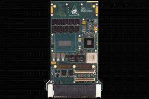 XPedite7570 3U VPX Single Board Computer (SBC) Top Shot