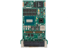 XPedite7572 3U VPX Single Board Computer (SBC) Top Shot