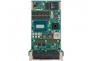 XPedite7572 3U VPX Single Board Computer (SBC) Top Shot