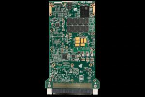 XPedite7574 3U VPX Single Board Computer (SBC) Bottom Shot