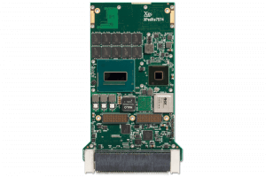 XPedite7574 3U VPX Single Board Computer (SBC) Top Shot
