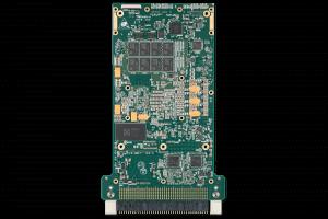XPedite7670 3U VPX Single Board Computer (SBC) Bottom Shot
