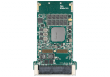 XPedite7670 3U VPX Single Board Computer (SBC) Top Shot