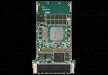 XPedite7672 3U VPX Single Board Computer (SBC) Top Shot