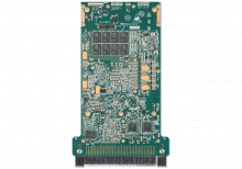XPedite7676 3U VPX Single Board Computer (SBC) Bottom Shot