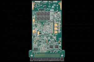 XPedite7676 3U VPX Single Board Computer (SBC) Bottom Shot