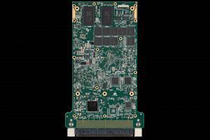 XPedite8171 3U VPX Single Board Computer (SBC) Bottom Shot