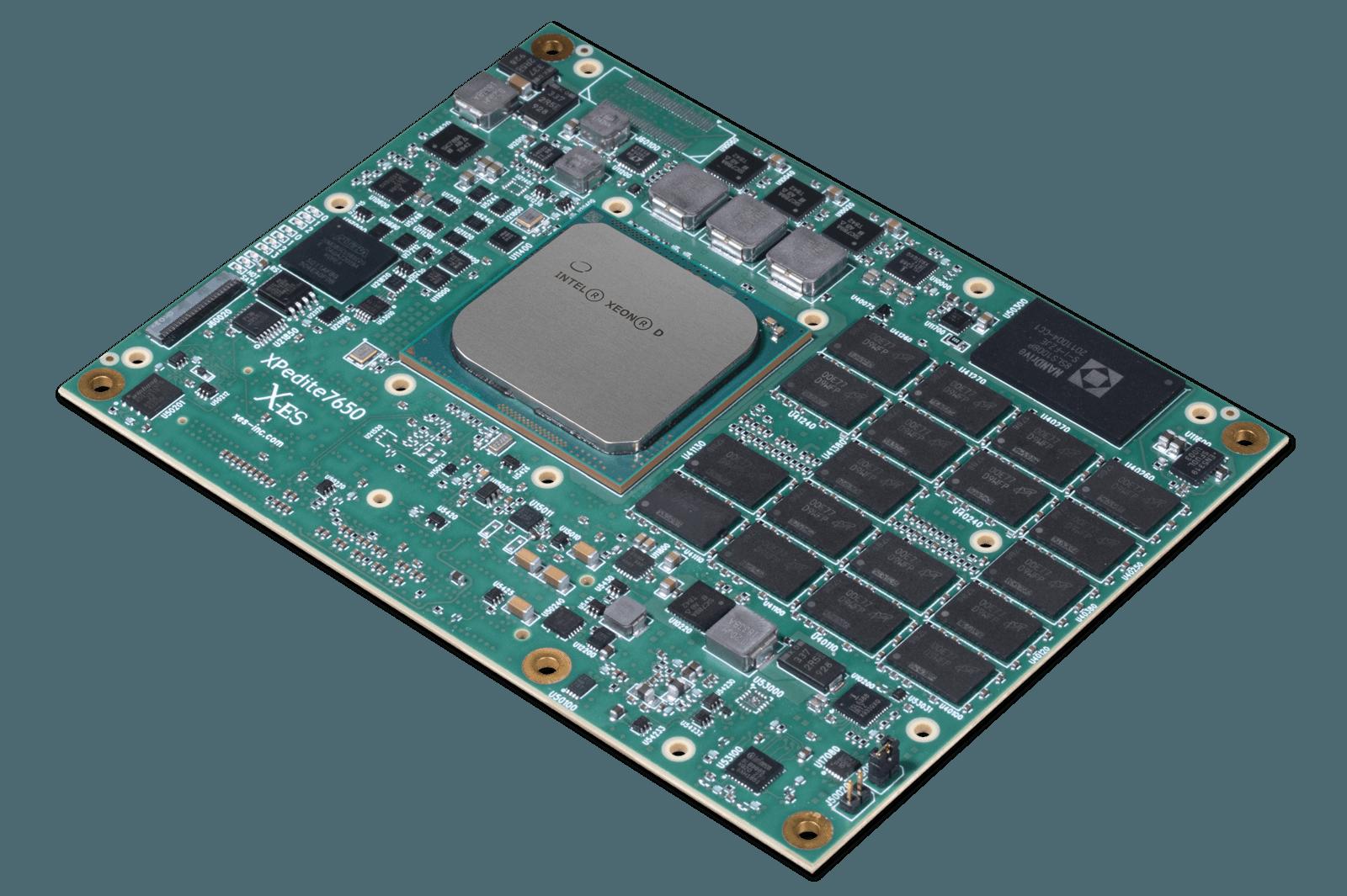 XPedite7650 COM Express (Type 7) Mezzanine Module