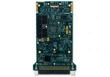 XPedite5970 3U VPX Single Board Computer (SBC) Bottom Shot