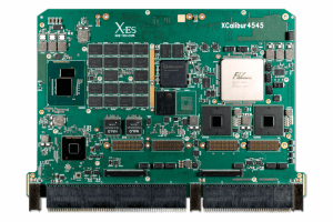 XCalibur4545 6U VPX Single Board Computer (SBC) Top Shot