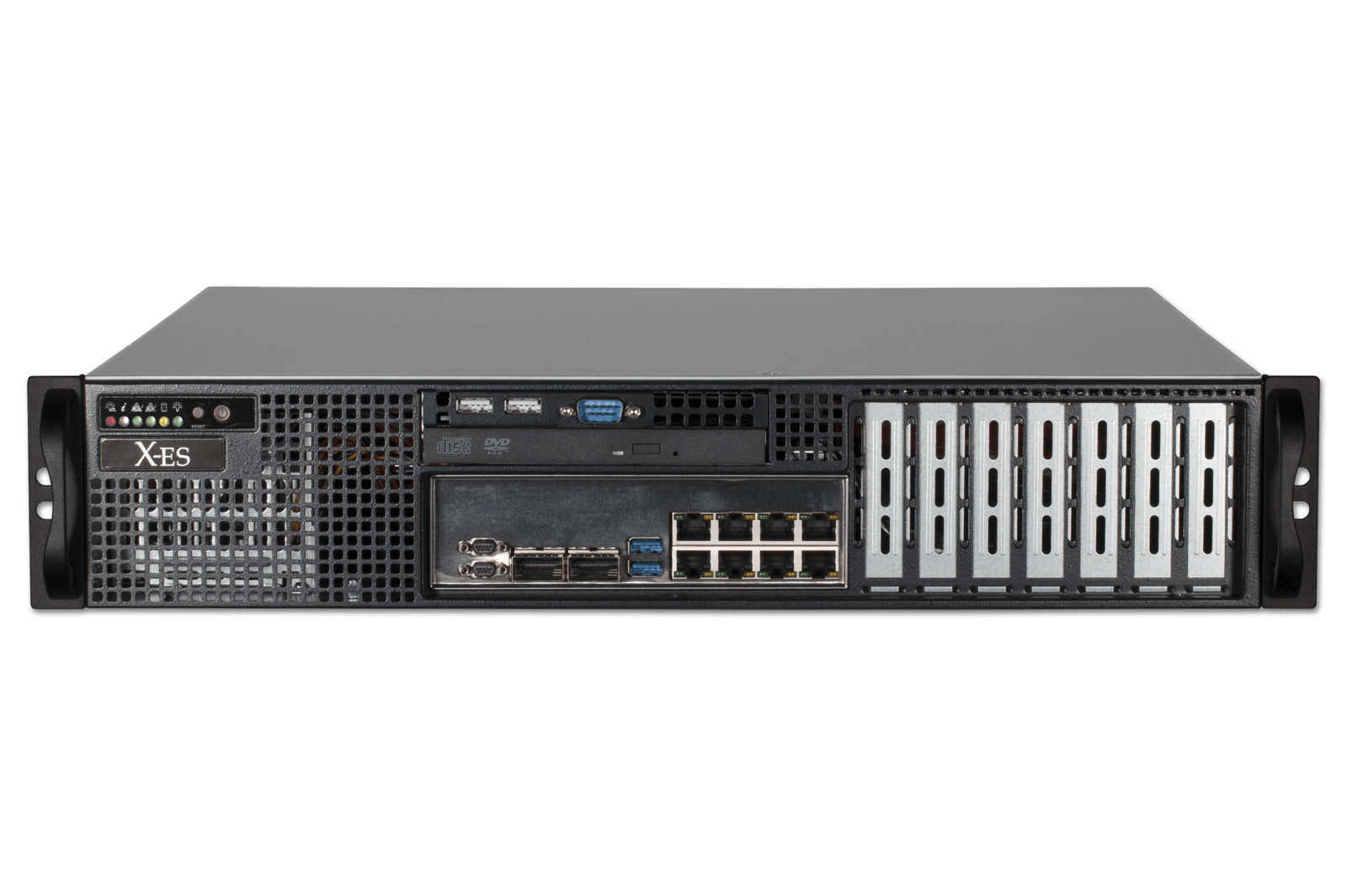 Xpand9011 Highly Secure 2u Rackmount Server For Rugged