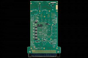 XPedite2570 | 3U VPX FPGA Bottom Shot