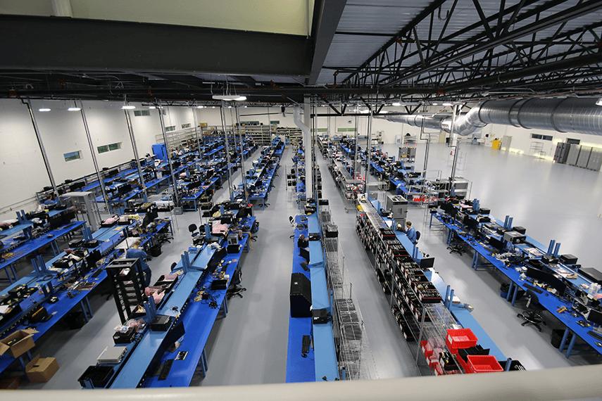 X-ES manufacturing