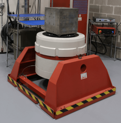 Photo of LDS V850 electrodynamic shaker